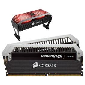 Corsair Dominator Platinum + Dominator Airflow 16gb 3,466mhz Ddr4 Sdram Dimm 288-pin