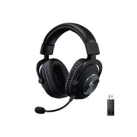 Logitech Pro X Wireless Gaming Headset Black Svart
