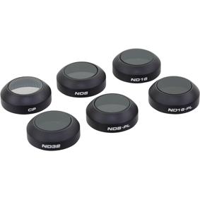 Polarpro Dji Mavic Pro Filter 6-pack (filter Hard Case Incl)