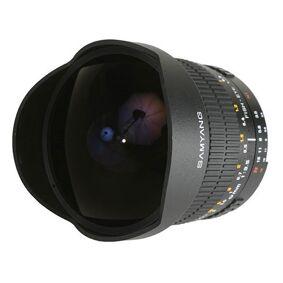 Samyang Mf 8/f3,5 Fisheye Csii Nikon Ae