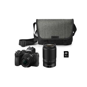 Nikon Z 50 + Nikkor Z Dx 16-50 Vr + 50-250 Vr + Bag + Sd Card Kit