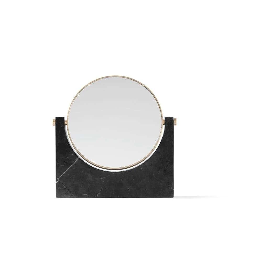 Menu Pepe Marble Mirror Brass/Black - Menu
