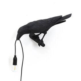 Seletti Bird Lamp Looking Left Utendørs Vegglampe Svart - Seletti  svart