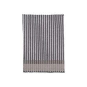 Ferm Living Grain Jacquard Tea Towel Grey - Ferm Living  grå  700 mm+500 mm
