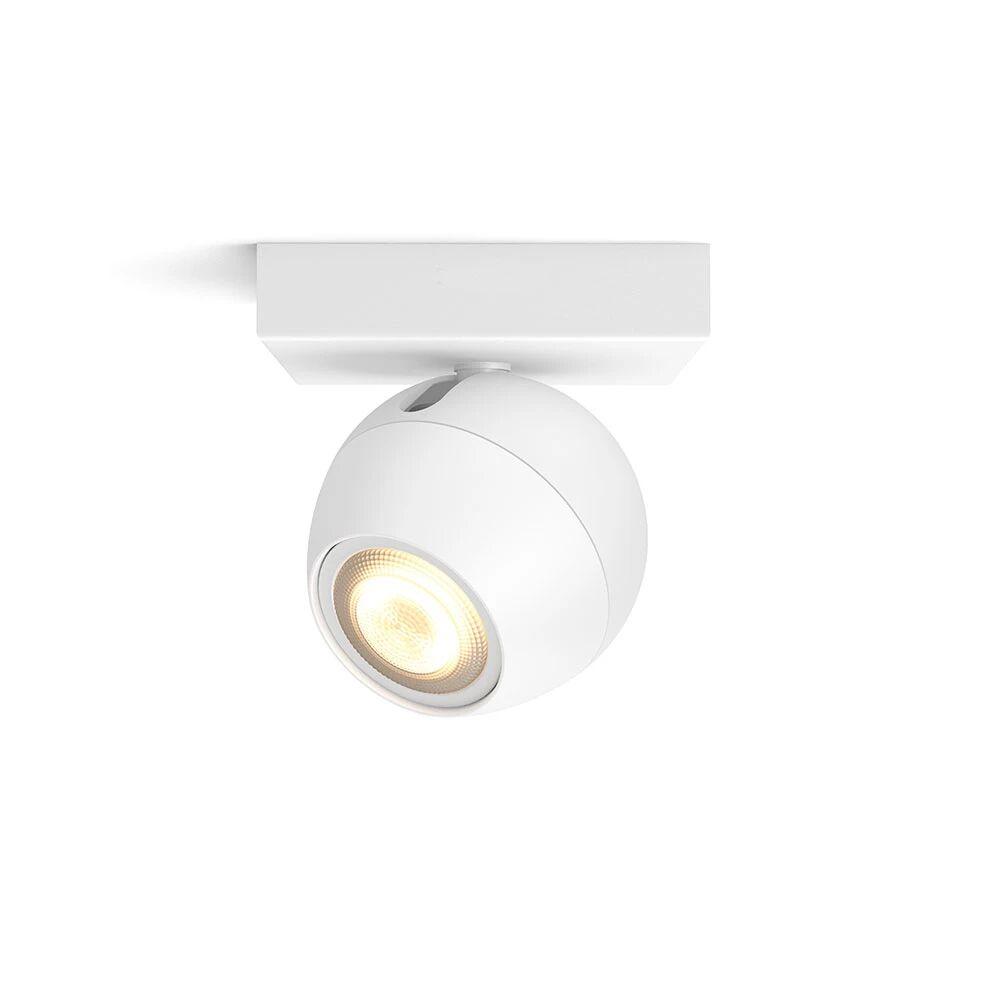 Philips Hue Buckram Taklampe Single Spot Hvit - Philips Hue  hvit