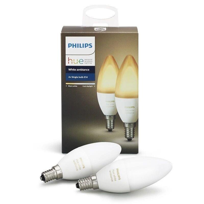 Philips Hue Ambiance 6W E14 2 pak - Philips Hue