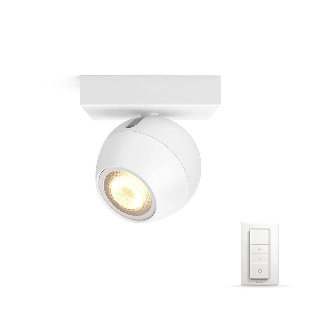 Philips Hue Buckram Taklampe Single Spot m/Switch Hvit - Philips Hue  hvit