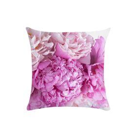 Newchic Flower Bouquet 45*45cm Cushion Cover Linen Throw Pillow Car Home Decoration Decorative Pillowcase
