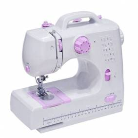 Newchic 8 Stitches Multifunction Electric Overlock Sewing Machine Household Sewing Tool with LED