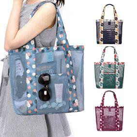 Newchic Nylon Casual Lightweight Handbag Storage Bag Sport Picnic Bag Shoulder Bags