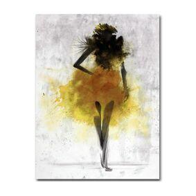 Newchic Fashion Girl Minimalist Abstract Art Canvas Poster Painting Modern Decor