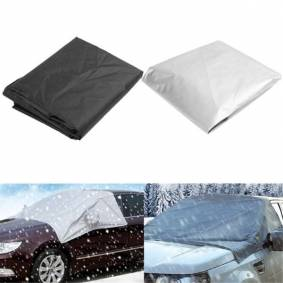 Newchic 170cmx110cm Car Wind Shield Snow Cover Sunshade Waterproof Protector with Hook