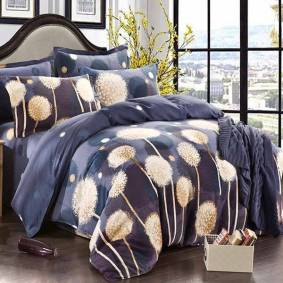 Newchic 4pcs Pure Cotton Sanding Printed Thicken Bedding Sets Quilt Cover 4 Size