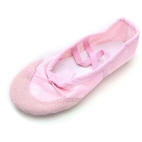 Newchic Ballet Dance Gymnastics Shoes Girl Soft Women Canvas Fitness Slippers