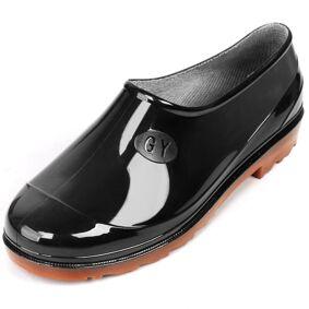 Newchic Men Waterproof Ankle Rain Boots