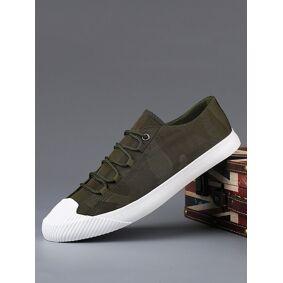 Newchic Men Cap Toe Canvas Sneakers