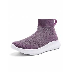 Newchic Knitted Slip On Walking Sneakers