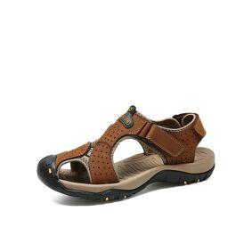 Newchic Men Outdoor Leather Sandals