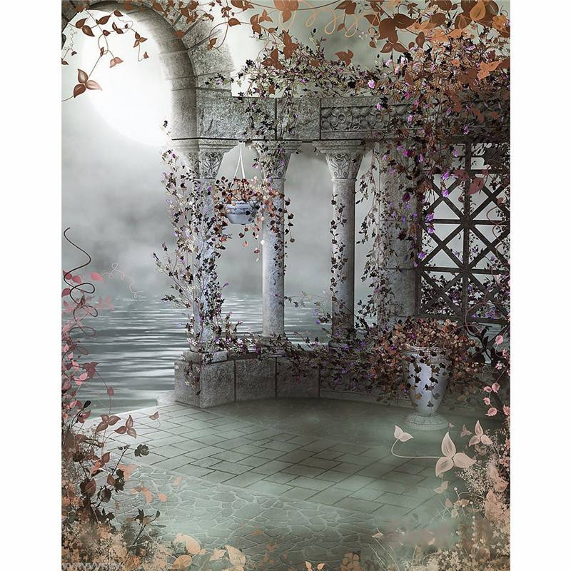 Newchic 5X7FT Fairy Tale Vinyl Backdrop Background Photography Studio Photo Props