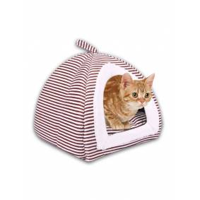 Newchic 2 in 1 Pet Dog Cat Winter Soft Tent Houses Puppy Sleeping Bag Bed Mat