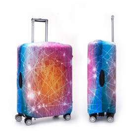 Newchic Nebula Multicolor Outdoor Travel Elastic Luggage Cover Trolley Suitcase Cover Anti-dust Protector