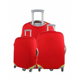 Newchic Colorful Luggage Travel Protector Suitcase Cover Trolley Suitcase Bags Black Dustproof