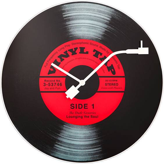 NeXtime Vinyl Tap Wall Clock