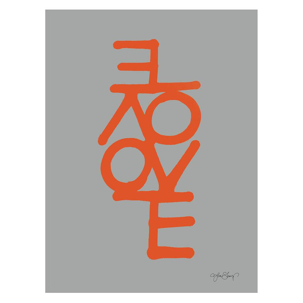 Ylva Skarp Love Poster 30x40 cm, Grå