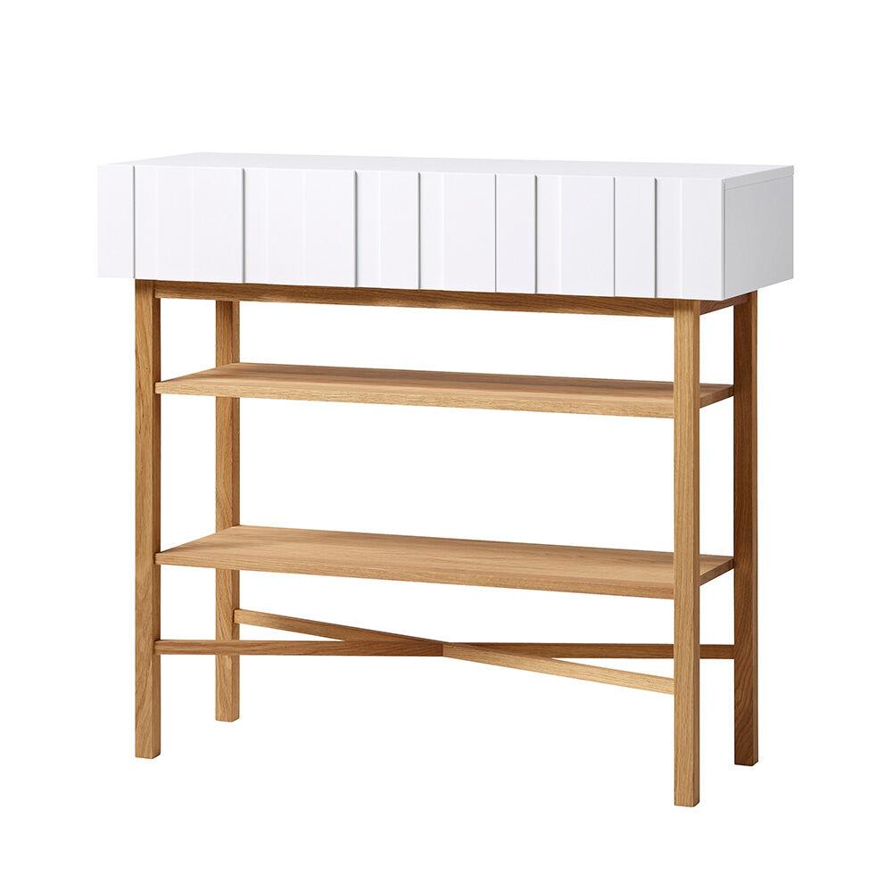 A2 White Sideboard, Hvit/ Eik