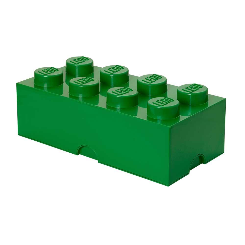 Room Copenhagen Lego Oppbevaringsboks 8, Mørkegrøn