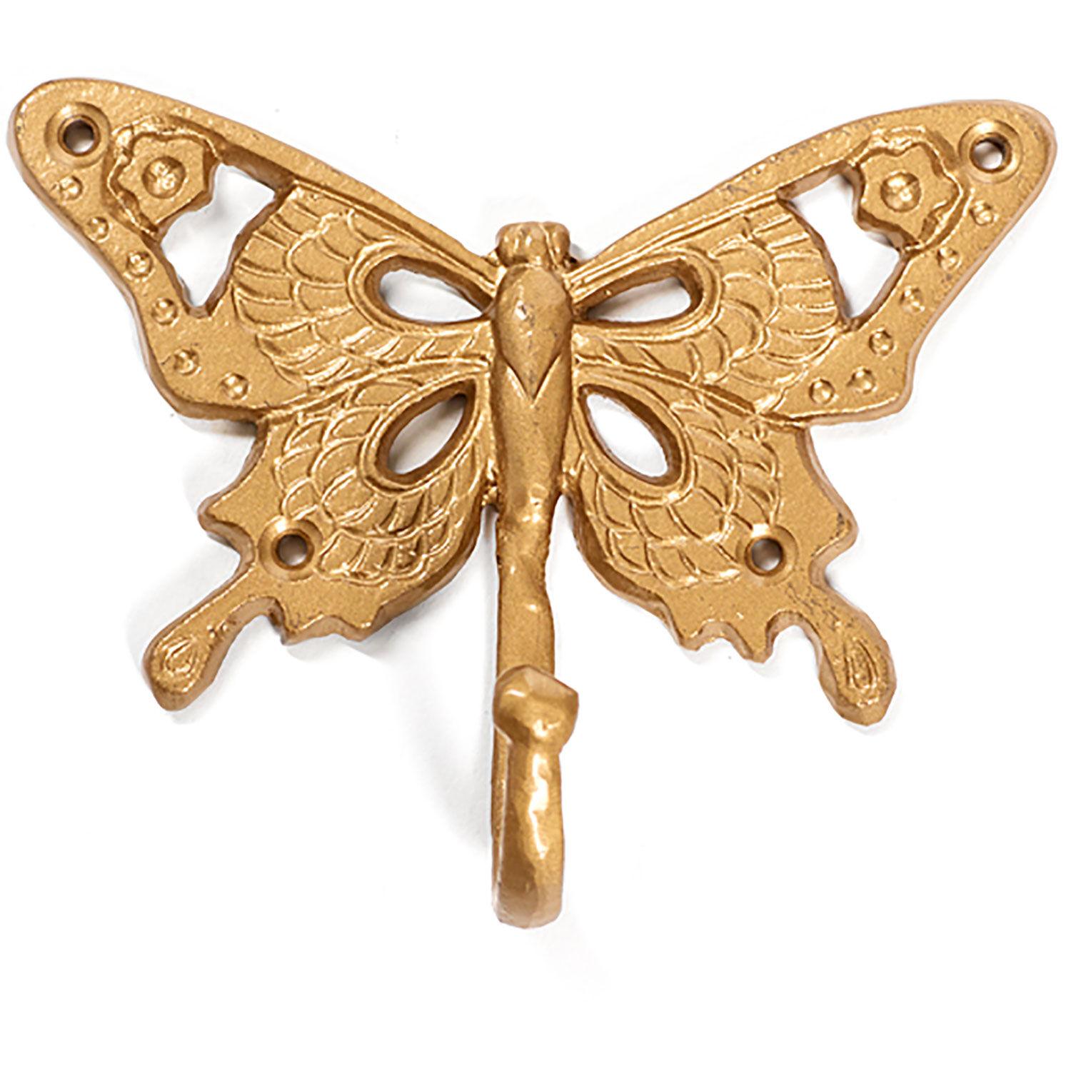 Carolina Gynning Butterfly Butterfly Hook 15x5x12, Gold