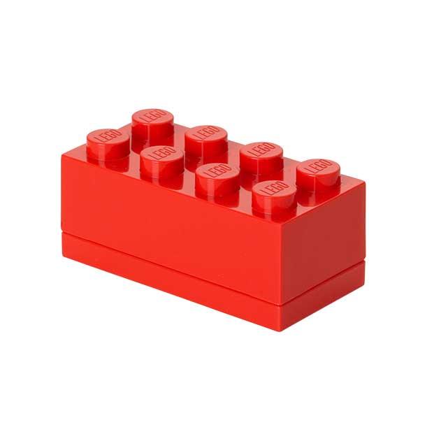 Room Copenhagen Lego Mini Oppbevaringsboks 8, Rød