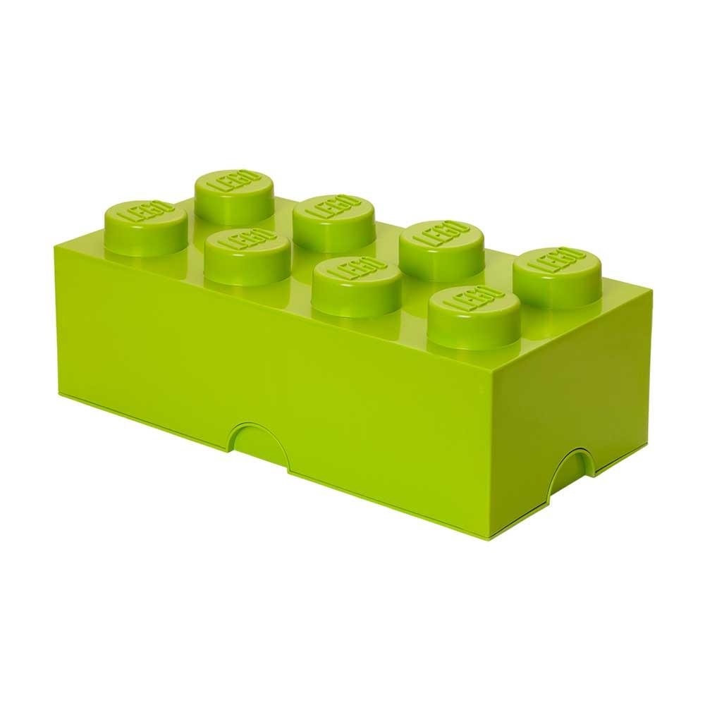 Room Copenhagen Lego Oppbevaringsboks 8, Lysegrønn