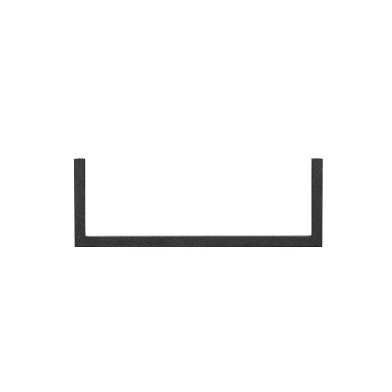 by Lassen Frame 35 Rail, Single, Sort