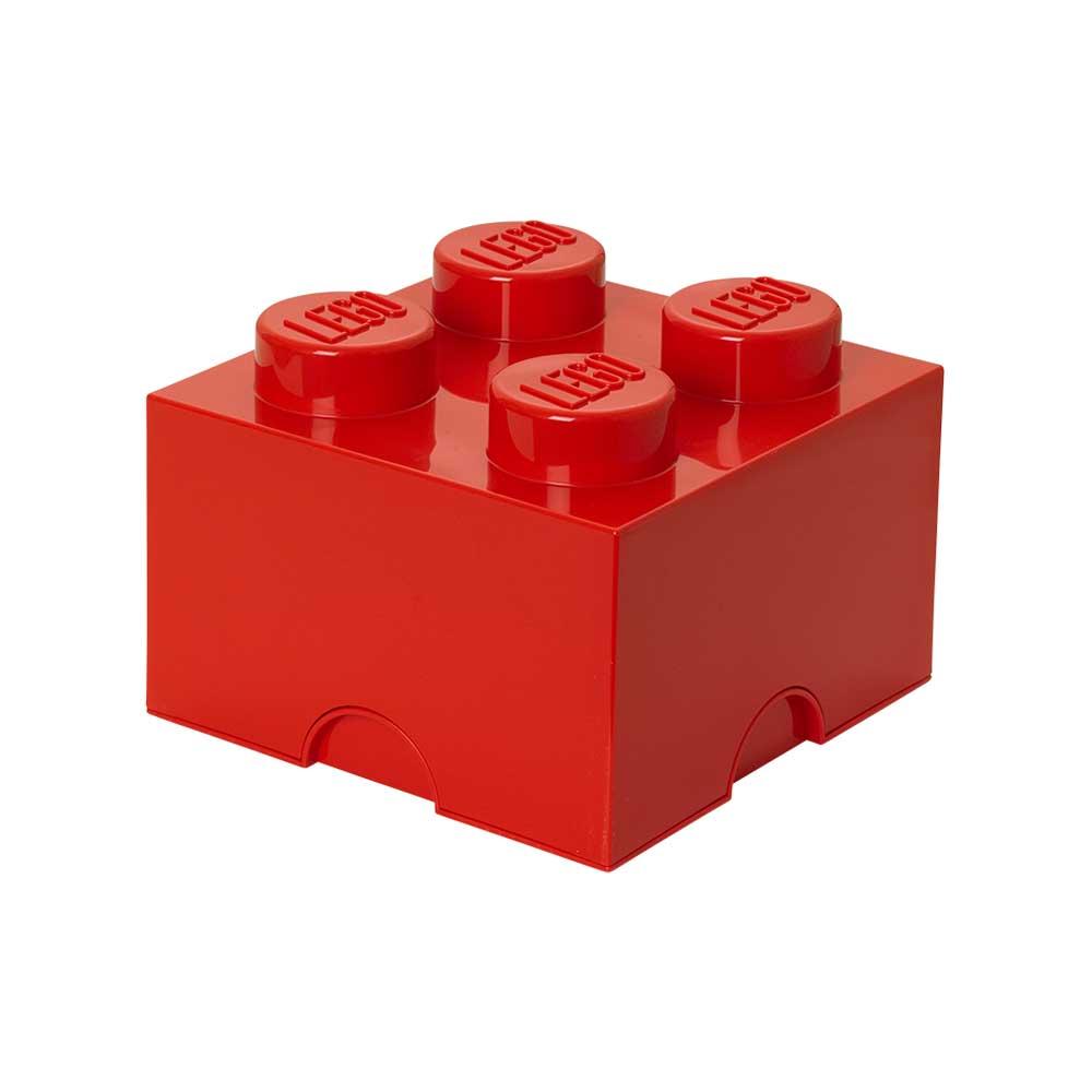 Room Copenhagen Lego Oppbevaringsboks 4, Rød