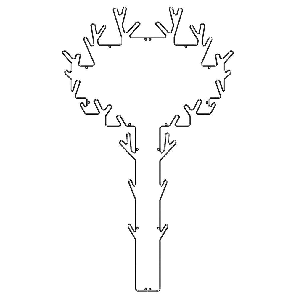 Maze Tree Klesstativ, Sort