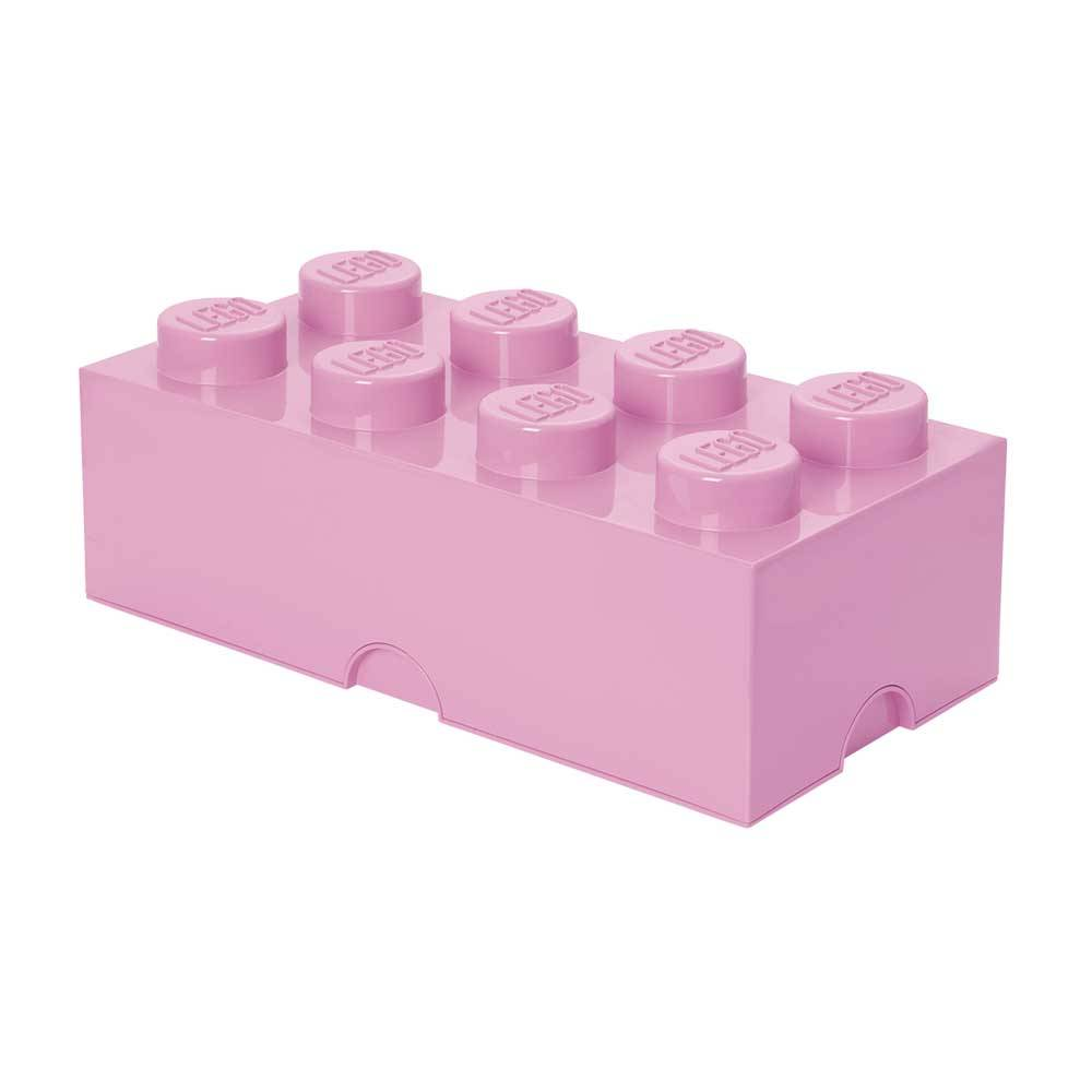 Room Copenhagen Lego Oppbevaringsboks 8, Lys Lilla