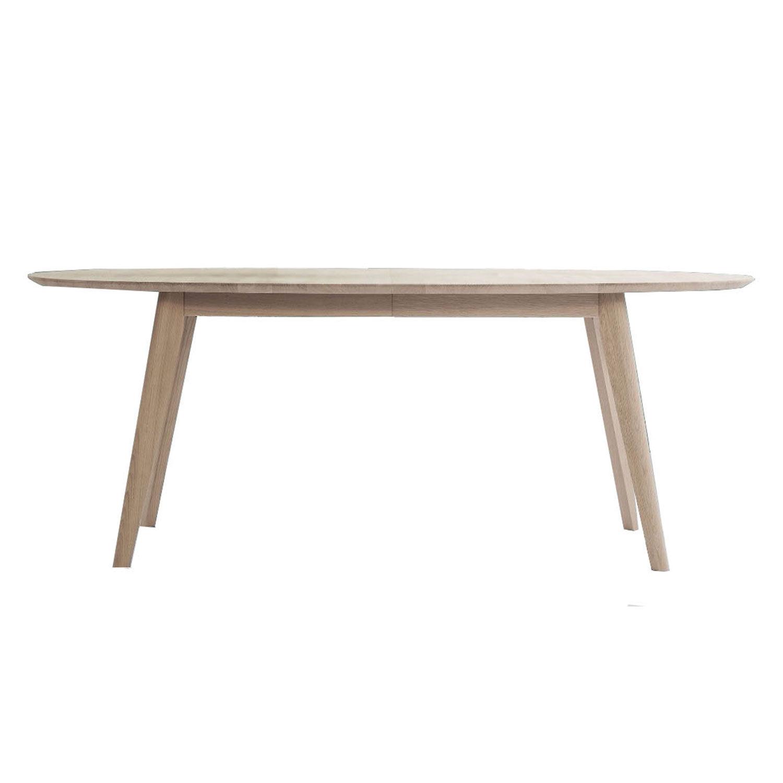 Andersen DK10 Spisebord 110x190cm, Såpet Eik