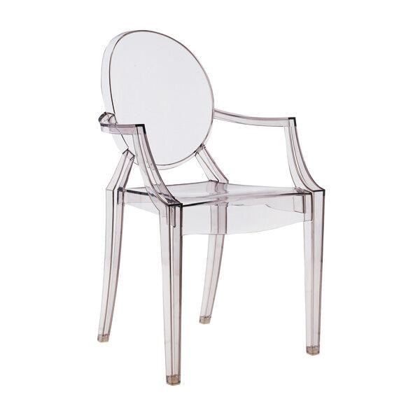 Kartell Louis Ghost stol, grå