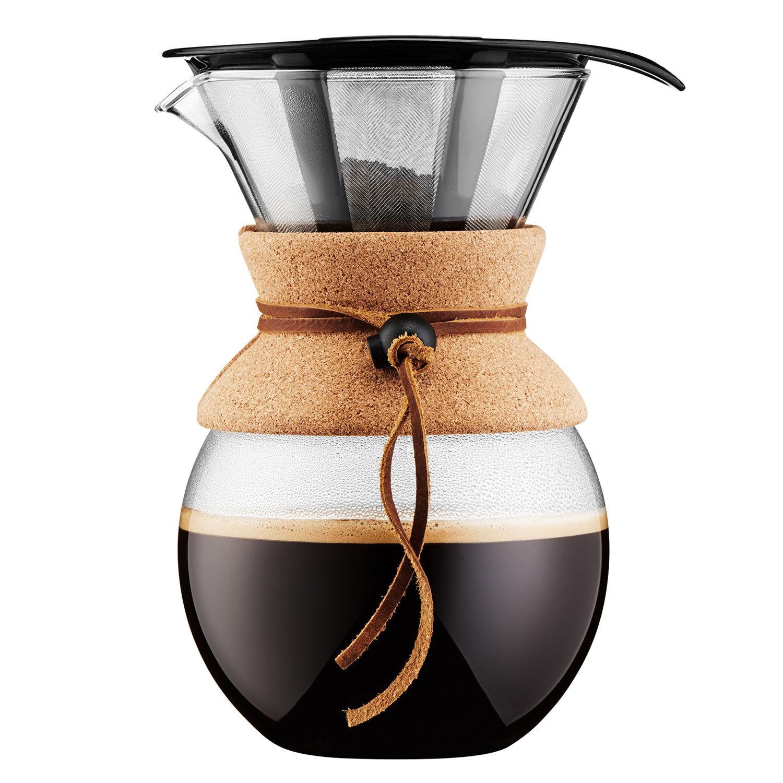 Bodum POUR OVER Kaffebrygger 1 L, Kork