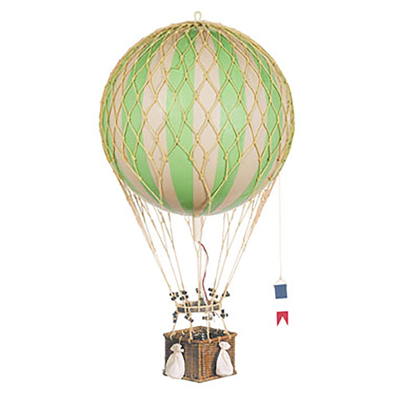 Authentic Models Royal Aero Luftballong, Grønn