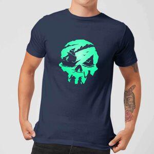 Rare Sea Of Thieves 2nd Anniversary Skull Men's T-Shirt - Navy - L - Navy
