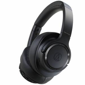 Audio Technica ATH-SR50 Wireless Noise Cancelling Over Ear Headphones - Black