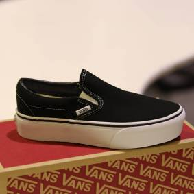 Vans - Classic Slip-On P Black 40,5