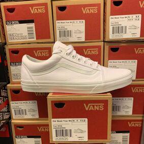 Merker VANS Vans - Old Skool True White 38