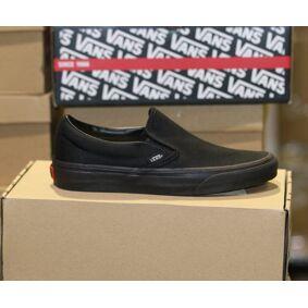 Vans - Classic Slip-on Black/black 40