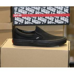 Vans - Classic Slip-on Black/black 35