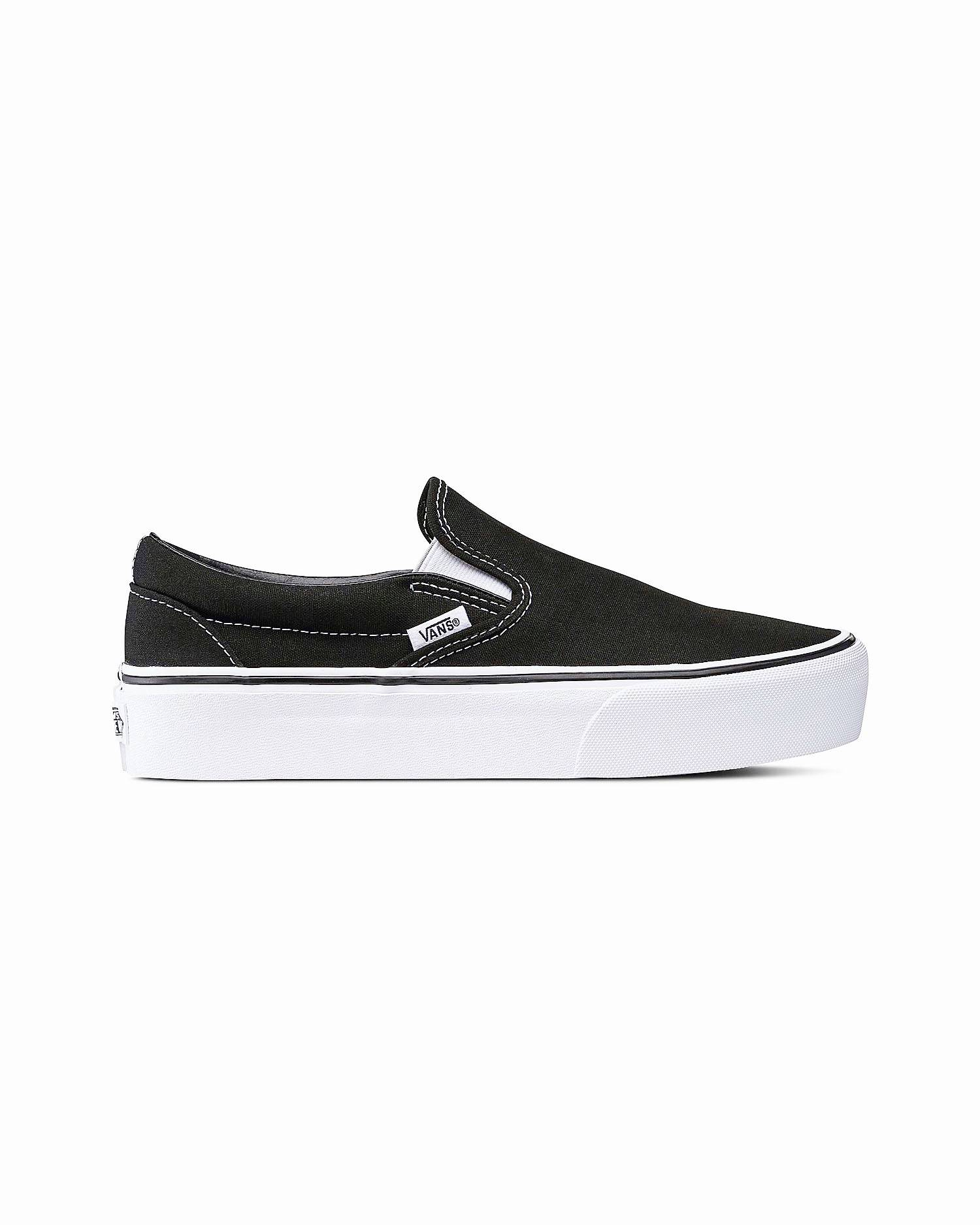 Vans - Classic Slip-On Platform Black 38,5