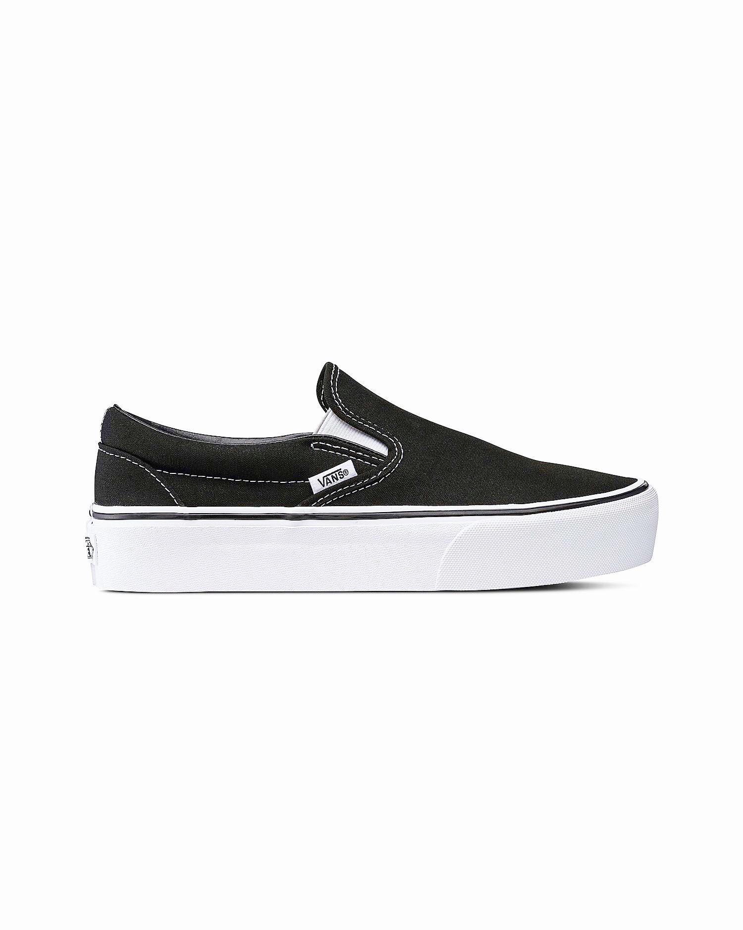 Vans - Classic Slip-On Platform Black 38,5