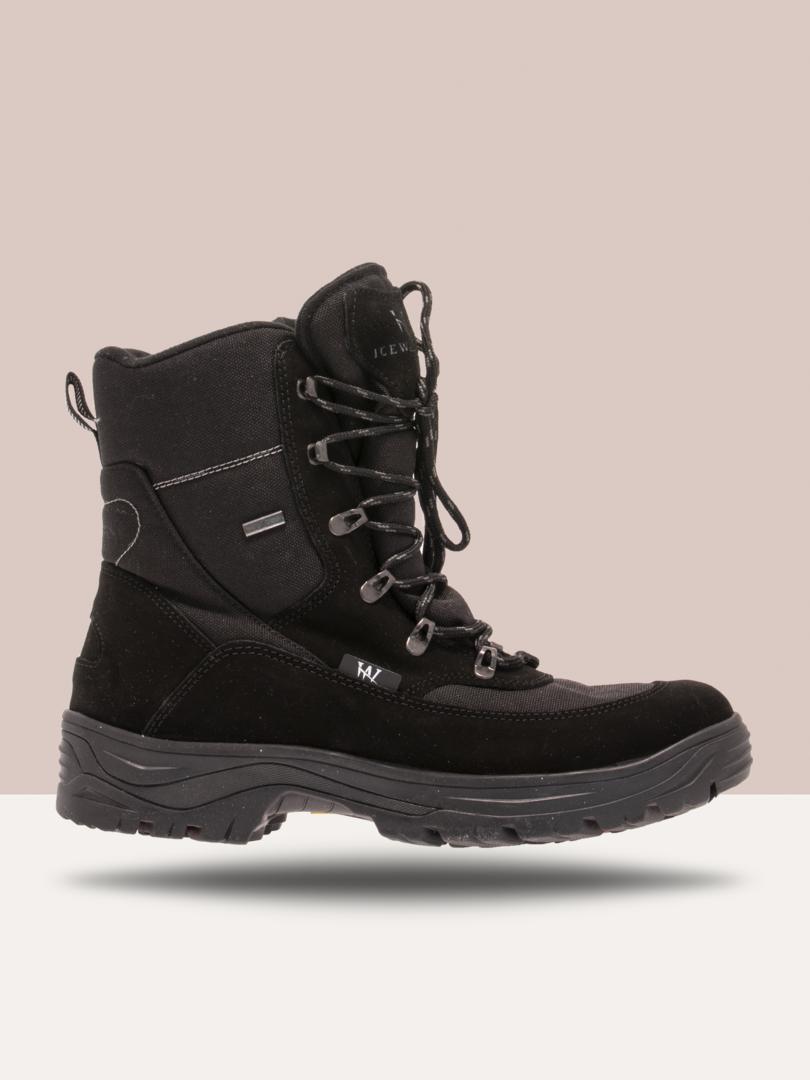 ICEWALKERS Merker IceWalkers - Boots m/vendbare pigger og snøring Herre 48